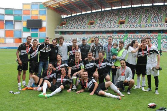 Grupo Desportivo de Alvaiázere campeão distrital da 1ªDivisão.